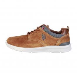 Zapatos Con Cordones - Waldo4004W7 S1 Tan - Color: Marrón