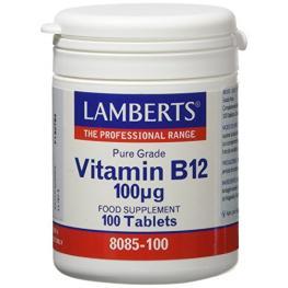 Vitamina B12 100Ug.100Tab.Lamb