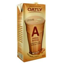 Leche Avena Chocolate Oatly 1L