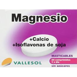 Magnesio+Ca+Isoflav.Eferv.Vall