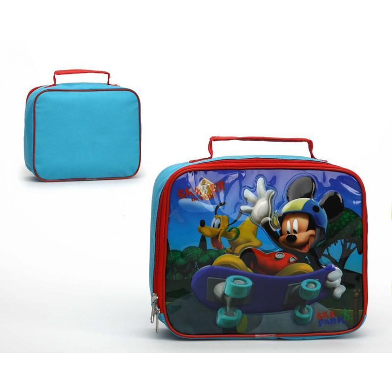 Mickey Mouse Bolsito Termico Para Merienda Mickey 27X20X8Cm