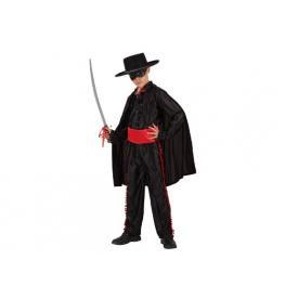 Disfraz Heroe Enmascarado Camisa Negra Talla 3-4 Años