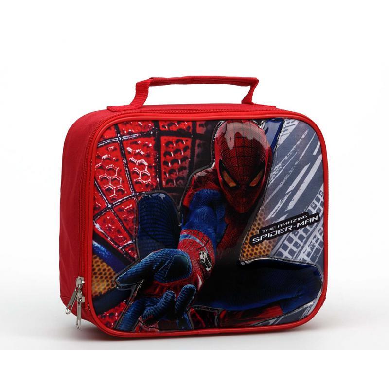 Bolsa Para Merienda Spiderman 27X20X8Cm