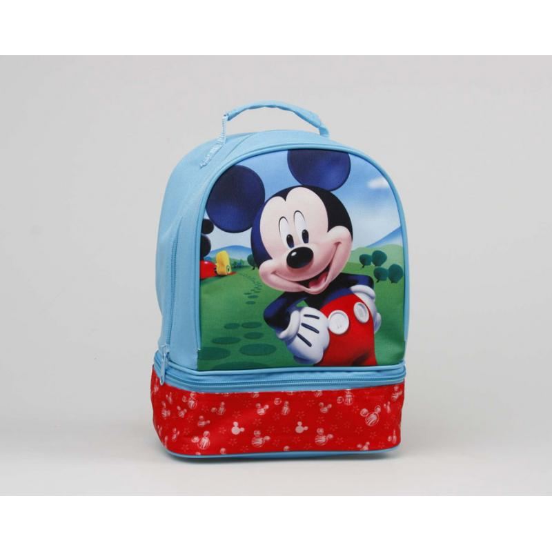 Bolsa Para Merienda  Mickey 2 Cremall.26X19X14 - 1 Asa