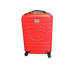 Hello Kitty Trolley Case Red. 48Cm