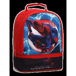 Bolsa Para Merienda Spiderman 2Crema.26X19X14