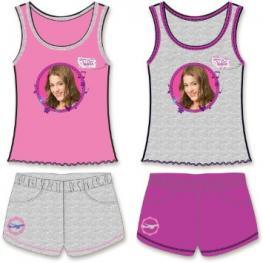Pijama Violeta Pantalon Corto