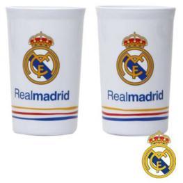 Real Madrid 2 Vasos Plastico Ref 8990300