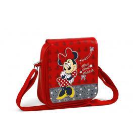 Disney Minnie Mouse Bandolera Con Solapa  26X22Cm Ref 436702