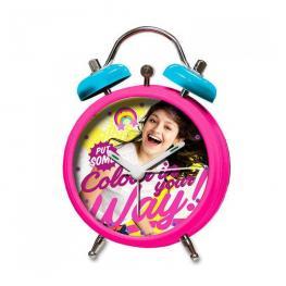 Soy Luna Reloj Despertador Alarm Clock Ref Rd-01-Ln