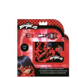 Ladybug Set Reloj Digital y Billetera +3 Años Ref 37565