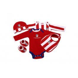 Atletico de Madrid Pack Recien Nacido Ref Am80501