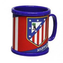 Atletico de Madrid Taza de Rubber