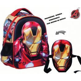 Avengers Mochila Mascara Iron-Man 31X24X12