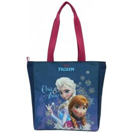 Frozen Bolso Shopping Blue 28,5X7,5X30,5Cm Ref 76878