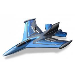 Avion Radio Control Jet Fighter Alcance 70 Metros Bateria Tipo Recargable de Alta Potencia  +8 Años