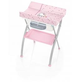 Bañera Cambiador Lindo Petites Fleurs Hello Kitty Col.451
