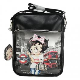 Betty Boop Bolso Rectangular Con Cremallera Coleccion Ny