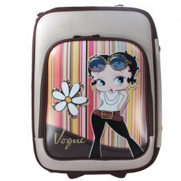 Betty Boop Maleta Con Bolsillo Cremallera Delanter