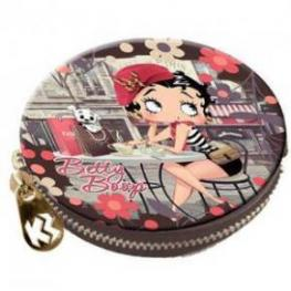 Betty Boop Monedero Redondo Cafe