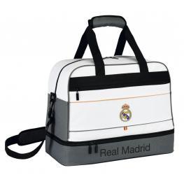 Bolsa de Deporte Con Zapatillero Real Madrid