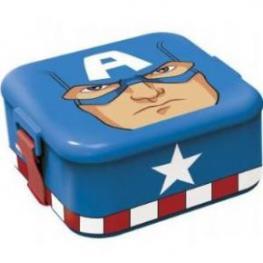 Capitan America Bento Character Fiambrera Ref 53845