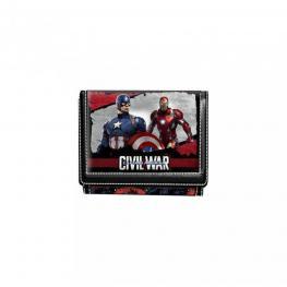Capitan America Civil War Billetera Velcro Ref 52842