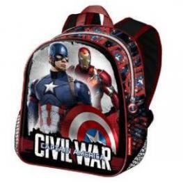 Capitan America Civil War Mochila Infantil Ref 53979