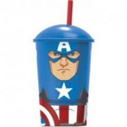 Capitan America Vaso Character Ref 53840