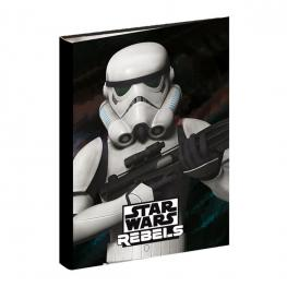 Carpeta Anillas Sw Rebels Soldier Ref 50337