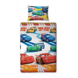 Cars Juego de Edredon Individual Duvet Cover 135X200Cm Pilowcase 48X74 Ref 35601