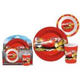 Cars Set Melamina 3 Piezas Mcqueen Ref 95247