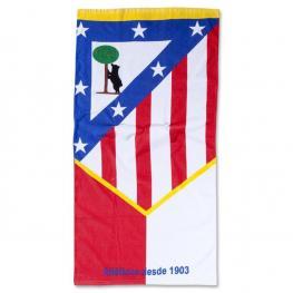 Club Atletico Madrid Toalla Playa Terciopelo 76X152Cm Ref 60038