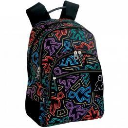 Daypack Doble Cmp Neon Ref 50178
