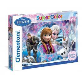 Frozen Puzzle Super Color 104P 6+ Ref 27248