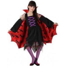Disfraz de Vampiresa Niña T. 7-9 Años