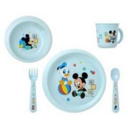 Disney Baby Mickey Set Vajilla Pp 5 Piezas 12M Ref 5013811