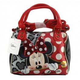 Disney Minnie Lazo Brillante Bolso Pequeño