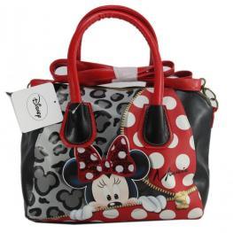Disney Minnie Lazo Brillante Bolso Shopping