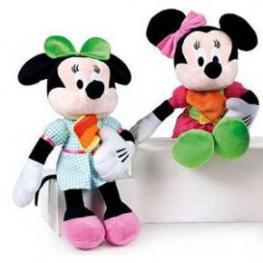 Disney Peluche Minnie Lolly Treats 30Cm Lazo Rosa y Falda Rosa