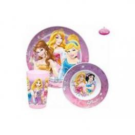 Disney Princess Servicio Mesa 3 Pzs. Ref.6544816