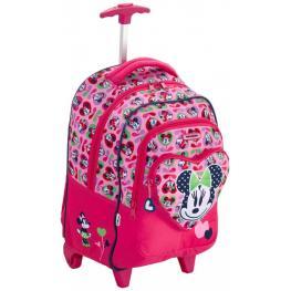 Disney Wonder Backpack Wh Minnie Love Ref 17C*90013