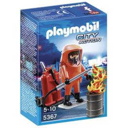 Especialista En Extincion de Incendios 5367 Playmobil