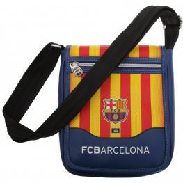 F.C.B Bandolera Con Solapa Barcelona Ref 312860