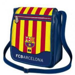 F.C.B Bandolera Con Solapa Barcelona Ref 317827