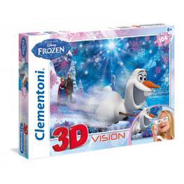 Frozen 3D Vision Puzzle 104 Ref 20603