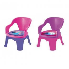 Frozen Silla Plastico C/almohadilla 32X32X40Cm Ref 560488