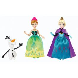 Frozen Figuritas Anna , Elsa, Olaf
