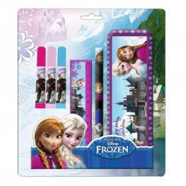 Frozen Kit Con Estuche de Aluminio 6 Pzs