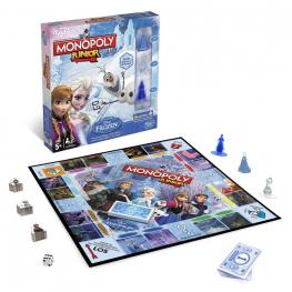 Frozen Monopoly Junior Viaja Por el Tablero Monopoly y Ayuda A Descogelar A tus Amigos Ref B2247